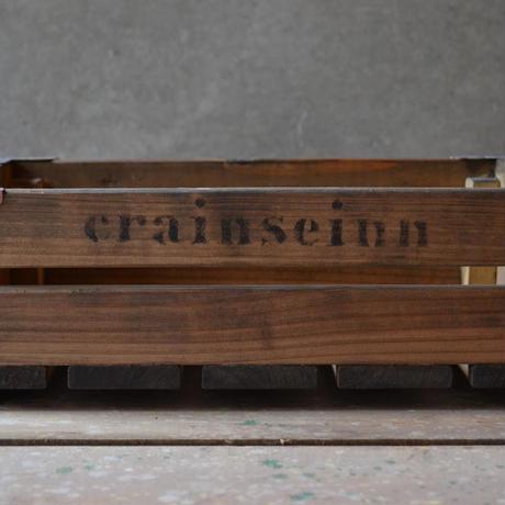 ウッドボックス M(midium brown1)