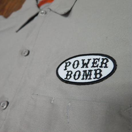 パワーボムワークシャツ