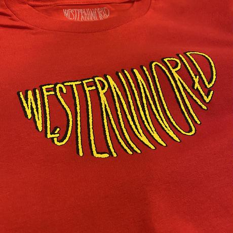 Westernworld Tee (レッド)