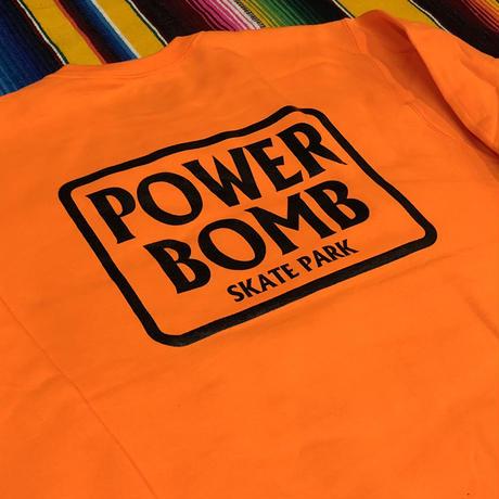 PB Box Logo  crew neck
