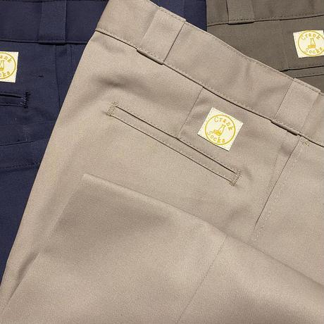 Crank socks work pants  leather patch