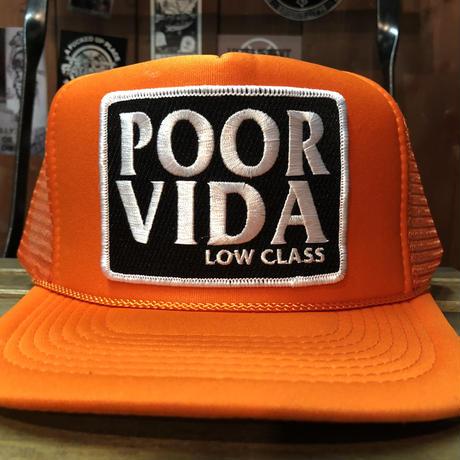 Orange low class cap
