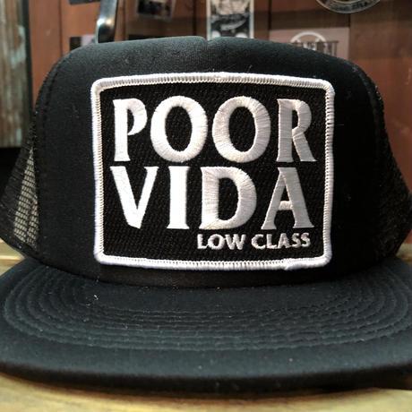 Low Class Trucker Cap Black