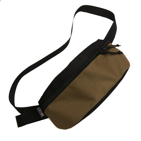 Hip bag   [Black x Coyote]