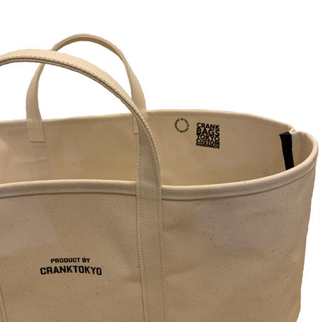 Heavy Canvas Short handle Tote [X-Large]