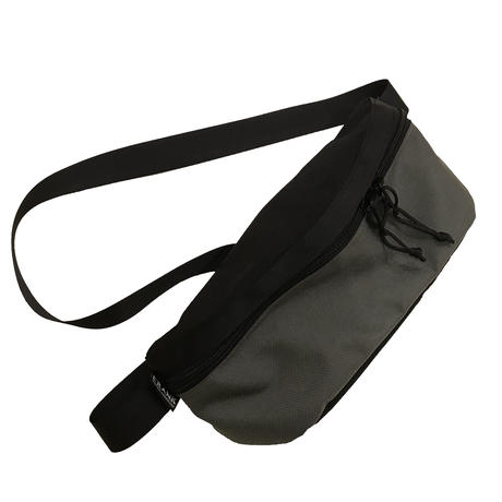 Hip bag   [Black x Charcoal]