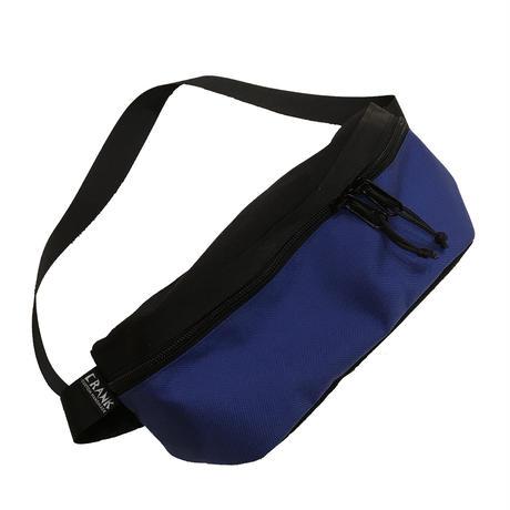 Hip bag   [Black x Blue]
