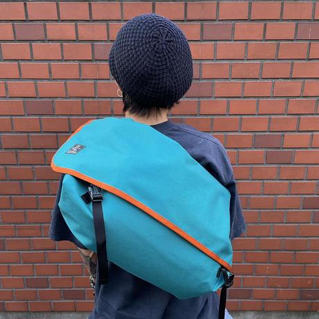 De Lorean [Dark turquoise x Orange]