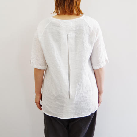 SETTO / ELBOW TUNIC / col.ホワイト