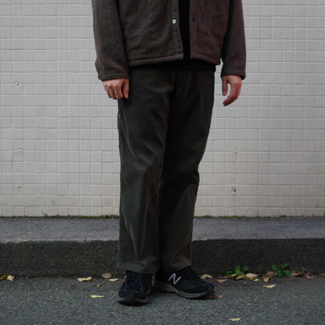 ENDS and MEANS / Cord Painter Trousers / col.カーキ