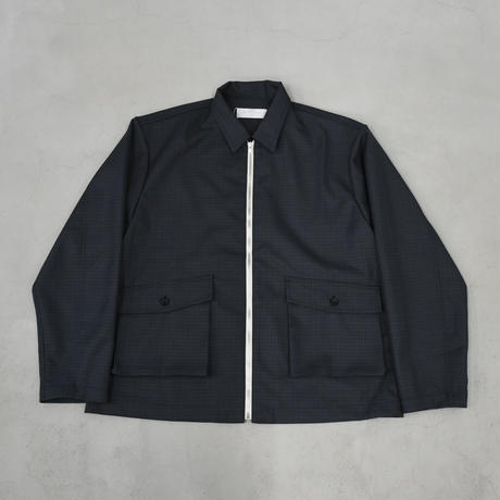 bunt / CK DRIZZLER JACKET / col.グレーブルーチェック