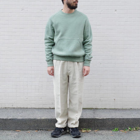 ENDS and MEANS / W/L Relax Fit Trousers / col.ナチュラル