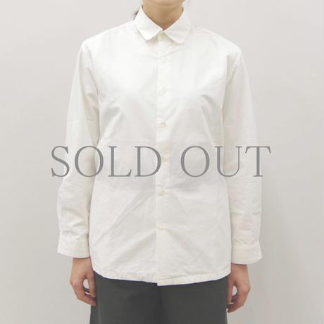 THE HINOKI / 高密度コットンブロードシャツ / col.ホワイト / Lady's
