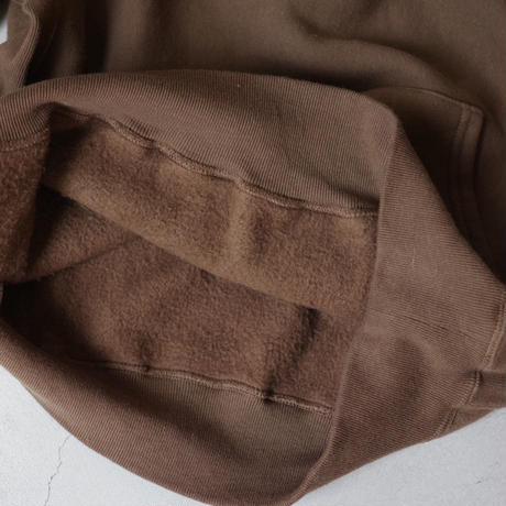 ENDS and MEANS / Crew Neck Sweat / col.ブラウン