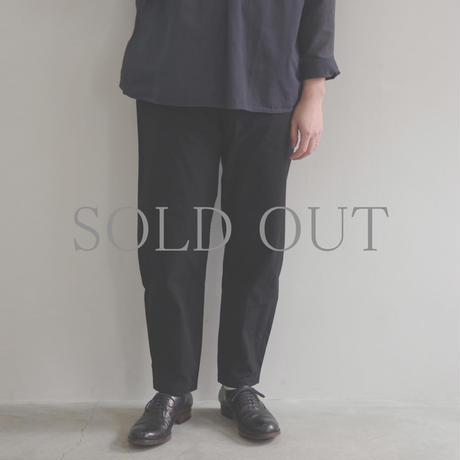 THE HINOKI / コットン馬布 OSFAパンツ / col.ブラック