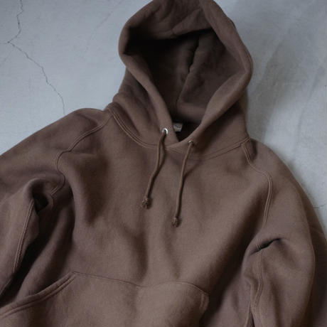 ENDS and MEANS / Hoodie Sweat / col.ブラウン