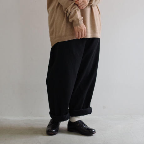 DEAD STOCK / FRENCH ARMY TROUSER / size 35  後染め  / Lady's