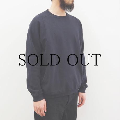 THE HINOKI / オーガニックコットン裏起毛スウェットシャツ / col.ネイビー / size 4