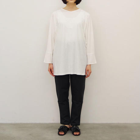 pssst,sir / as001 pullover / col.ホワイト / Lady's