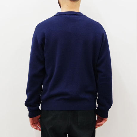 bunt / SKIPPER KNIT SHIRTS / col.ネイビー