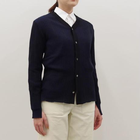 PULETTE / V neck Rib Knit sweater