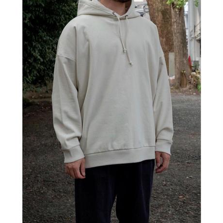 Blanc YM / Coating Sweat Parka / col.BEIGE / size.M