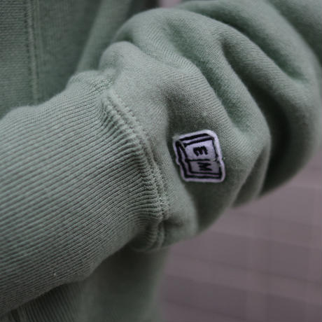 ENDS and MEANS / Crew Neck Sweat / col.セージグリーン