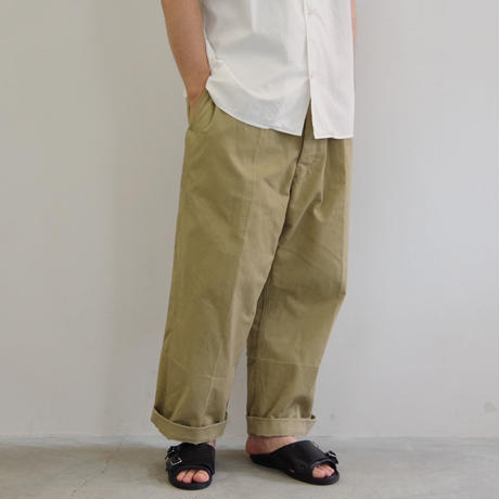 DEAD STOCK / FRENCH ARMY TROUSER / size 35