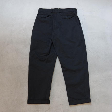 DEAD STOCK / FRENCH ARMY TROUSER / size 35  後染め