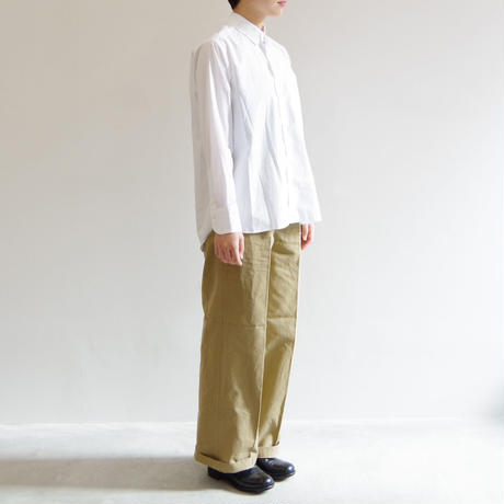 PULETTE / Cotton Wide Pants