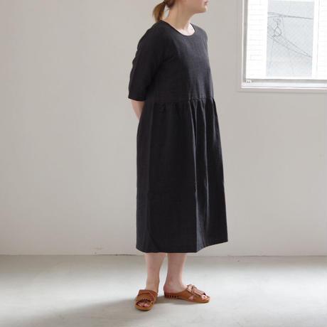 Worke's nobility / Maja Dress(リネン半袖ワンピース)