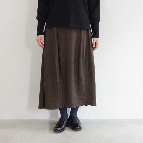 pssst,sir / trom skirt / col.ブラウン