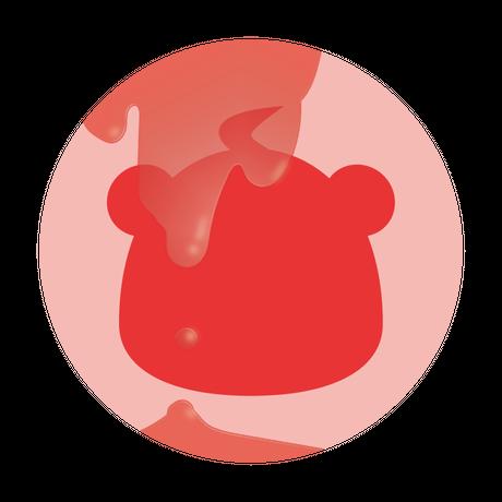 缶バッジ (ゆと衣装)