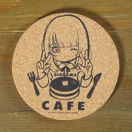 [ケビンばやし × DIORAMA CAFE]パンケーキMix/コースター×アクキーセット