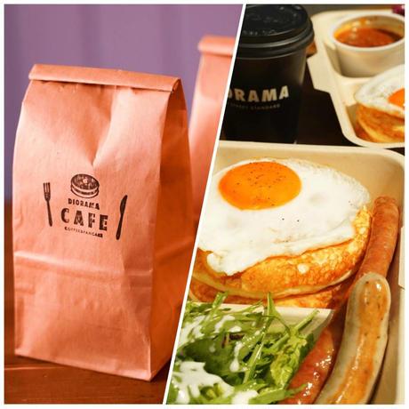 [しろさめ × DIORAMA CAFE]パンケーキMix/ドローイングセット