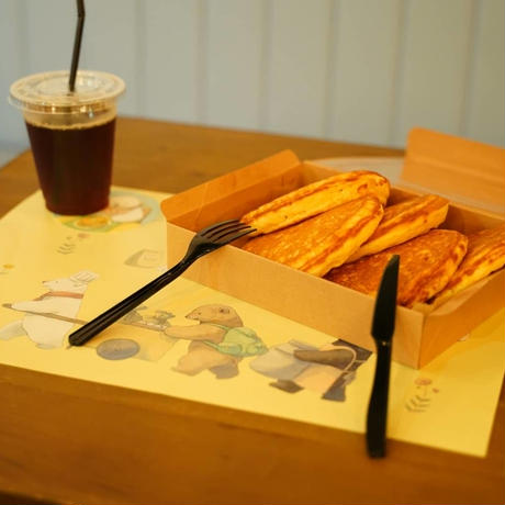 [しろさめ × DIORAMA CAFE]パンケーキMix/テーブルウェア+ドローイングセット