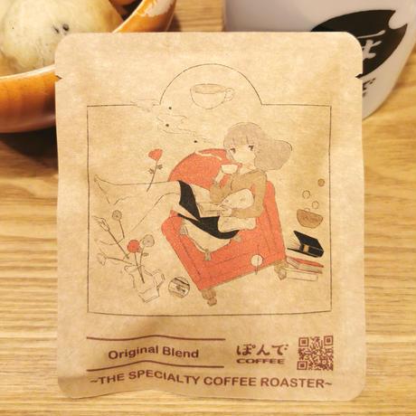 [おさかなゼリー × ぽんでCOFFEE]ドリップバッグ(5点)+ コースターセット