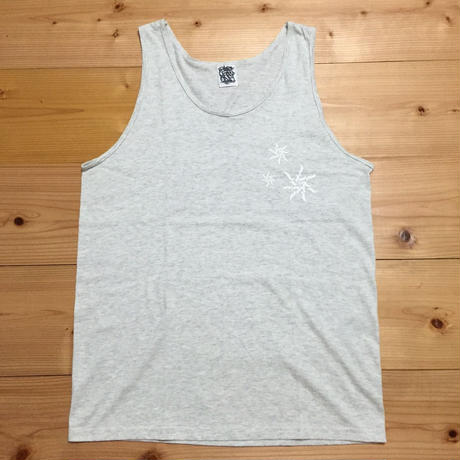 "MOZYSKEY MULTI PRINT TANK TOP ""ASH GREY"""