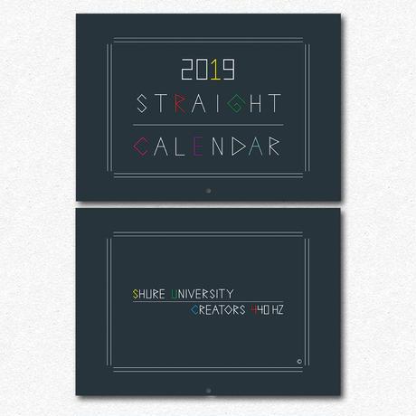 STRAIGHTカレンダー