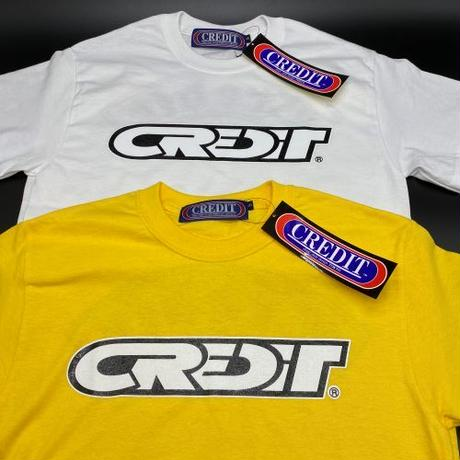 "CREDIT RACING  ""PATCH"" COTTON T-SHIRTS・DAISY"