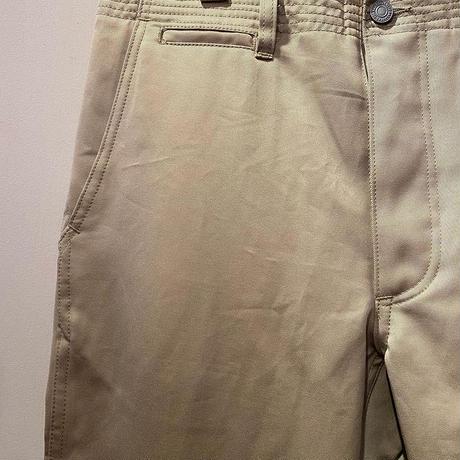 SASSAFRAS -sprayer pants- BEIGE