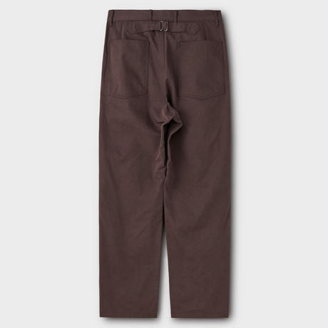 PHIGVEL MAKERS & Co.  UTILITYTROUSERS(PURPLEBROWN)