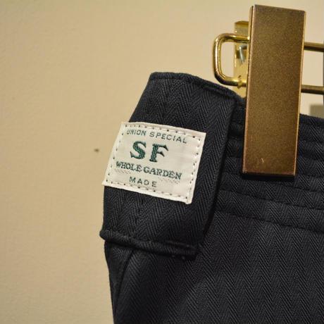 SASSAFRAS -sprayer stream pants-NavyHBT