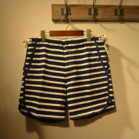 "kenneth field ""TRACK&FIELD SHORTS"" NAVY BORDER"