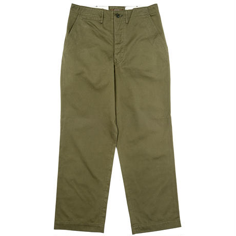 Workers 2020ss -Officer Trousers Vintage Type 1 Olive Chino-