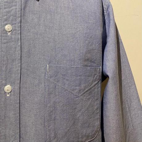 SASSAFRAS-Green Thumb Shirt-BlueOxford