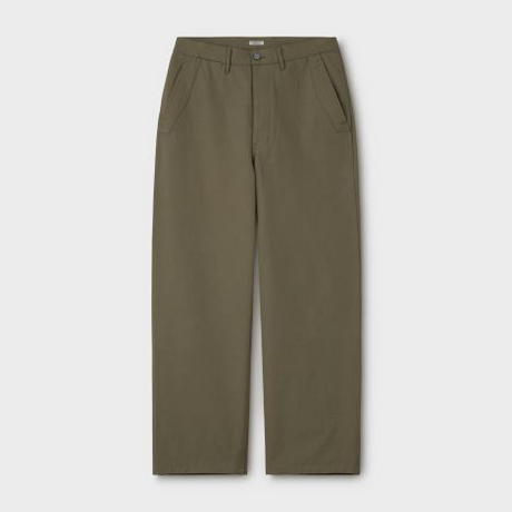 PHIGVEL MAKERS & Co.  PMAL-PT07 / UTILITY TROUSERS (French Olive)