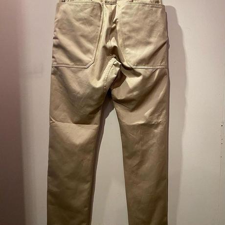 SASSAFRAS -Fall Leaf Sprayer Pants- (BEIGE)