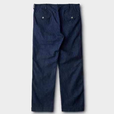 PHIGVEL‐MAKERS Co. PMAⅠ‐PT11R OFFICERTROUSERS(REGULAR)‐INDIGO‐