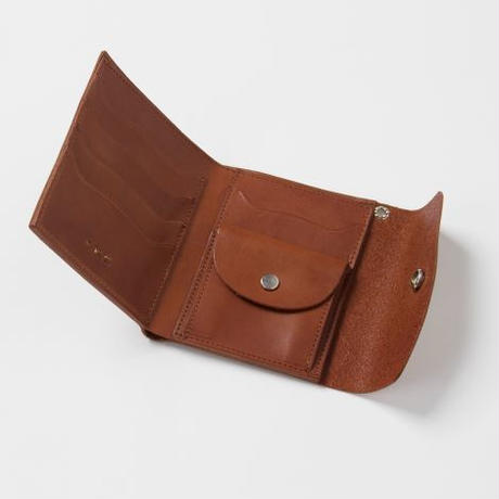 PHIGVEL‐MAKERS Co. pm‐acpp03 short wallet -camel-